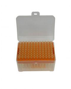 Pipette Tips, 200ul, Filtered, Racked, Sterile, 96/Rack, 1 Pack