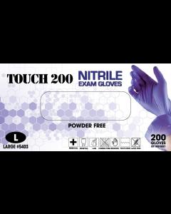 Emerald Touch 200 Powder-Free Exam Gloves 3 Mil Medium